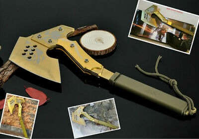 Survival-Hunting-Camping Axe, Tactical Axe, Fire Axe Hand Tool-CF01-BK