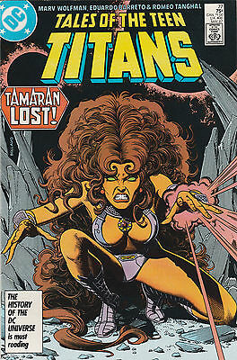 New Teen Titans (1980) (Tales of ...) #77 NM