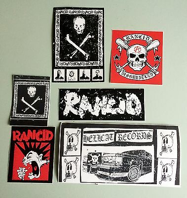 Assorted RANCID Stickers (from the 90's) - PUNK