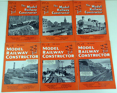 Model Railway Constructor Magazine Collection (12 Issues Total) 1953