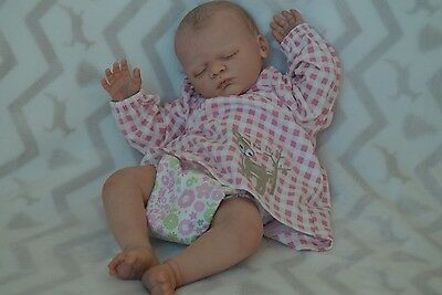 Gorgeous Reborn baby girl doll ~ Linus~very rare~sole~Cheshire's Little Cherubs