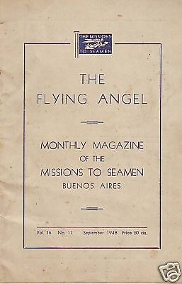 The Flying Angel Missions To Seamen Buenos Aires.sept48