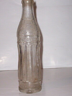 """carbonated Beverages""/brunswick, Missouri 6 1/2 Ounce Embossed Soda Bottle"