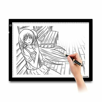 """HUION A3 Art Graphic Drawing Tablet Tatoo Animation Trackpad LED Light Box 23.5"""""""