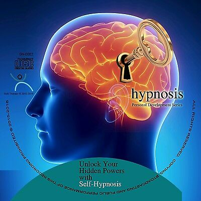 STRESS RELIEF GUIDED HYPNOSIS ALBUM 2-in-1 AUDIO CD, NEW