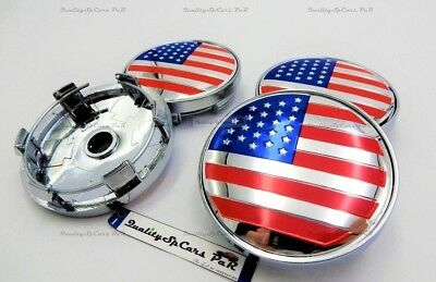 4 TAPPI COPRIMOZZO CERCHI FORD MUSTANG EMBLEM LOGO 60mm WHEELS HUB CENTER CAPS