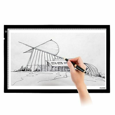 """HUION A2 Art Graphic Drawing Tablet Tatoo Animation Trackpad LED Light Box 26.8"""""""