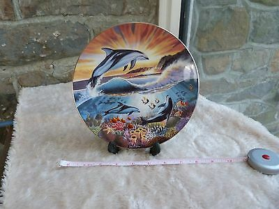 Royal Worcester, Freedom of the Ocean, Bathing in Sunshine, collector plate