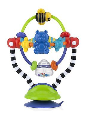 Nuby Silly Spinwheel Highchair Infant Fun And Learning Toy For 6 Months New