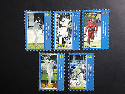 Famous West Indian Cricketers SG 4091-4095 MNH