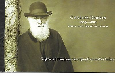 Great Britain Prestige Booklets  2009 Charles Darwin