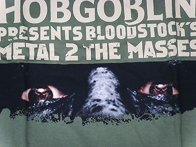 Wychwood Brewery Hobgoblin Metal To The Masses T-Shirt Large