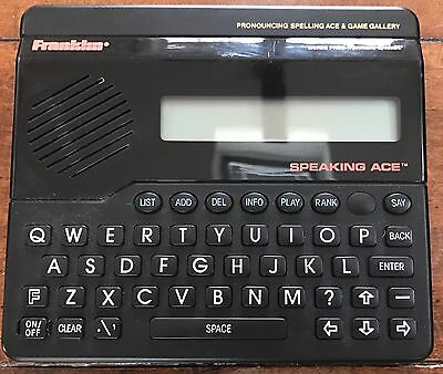 Franklin Computer LM-3000 Language Master Dictionary, Thesaurus, Speller