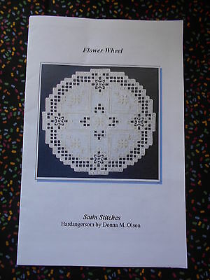 Beautiful Flower Wheel Hardanger Chart