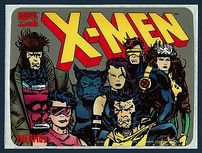 """1994 Thermos """"X-Men"""" Lunch Box Label """"Mint On Liner"""" Unused ! Rare ! Great Deal"""