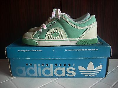 Deadstock Adidas Lapila 39975 Running Sneakers Trainers 70 Casuals 80 29 Kid Vtg