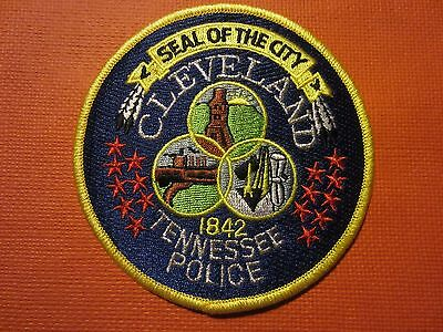 Collectible Tennessee Police Patch Cleveland New