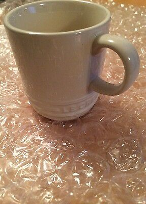 Le Creuset ESPRESSO CUP X1 PEARL **BNWT** Lovely 'neutral' colour