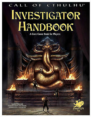 Call of Cthulhu 7th Edition RPG - Investigators Handbook - Horror Roleplaying