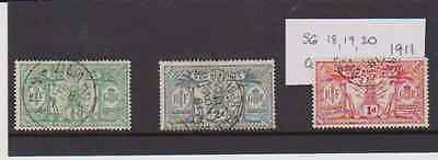 Used New Hebrides  stamps 1911