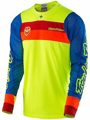 Troy Lee Designs Fluorescent Yellow 2017 SE Air Corsa MX Jersey