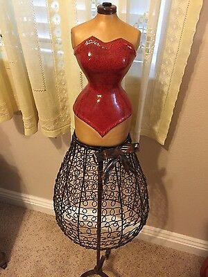 "Female Mannequin Dress Form for Home or Women's clothing Store 37""X 12"""