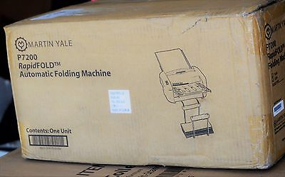 Martin Yale P7200 Rapid Fold Automatic Desktop Folder, Automatic NEW IN BOX
