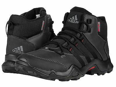 New Adidas Outdoor CW AX2 Beta Mid Primaloft Boots Hiking Streets Men 9 Black