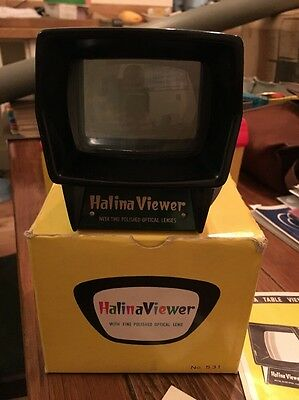 Vintage Halina Slide Viewer 531 Boxed with instructions Empire made Retro
