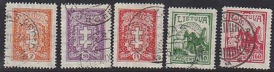 Lithuania 1933 Mi 380-4 Used