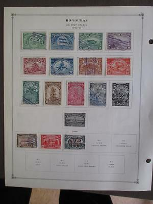 About 1940-1955 Honduras On Scott - Most BOB - Values Unchecked - (t14)