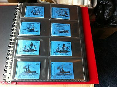 Stamp Booklets - Full Ship Series - 14 Booklets In All