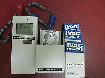 ALARIS 2180CX IVAC Turbo Temp Thermometer Chiropractic Veterinary Daycare