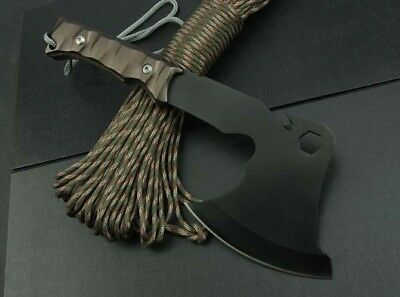 Multi Function Survival-Hunting-Camping Hiking Shovel Axe Saw Field Tool-CO13