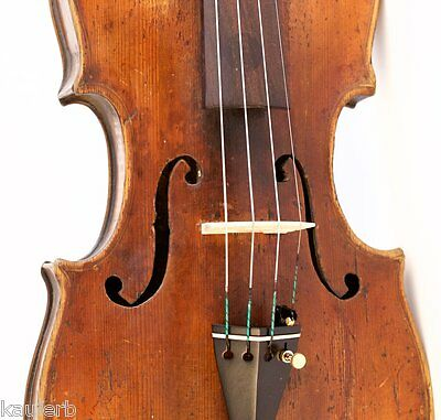 200 years old ITALIAN 4/4 violin labeled A.MARCONCINI 1779 violon geige