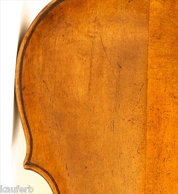 CRAZY!!! 300 years old ITALIAN 4/4 violin labeled G.BAIRHOFF 1757 violon geige