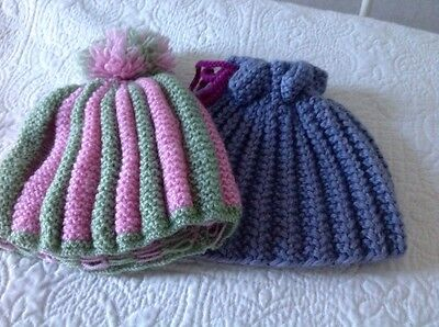 hand knitted tea cosy