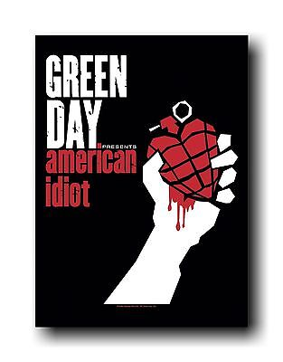 GREEN DAY - AMERICAN IDIOT - FABRIC POSTER - 30x40 WALL HANGING 51742