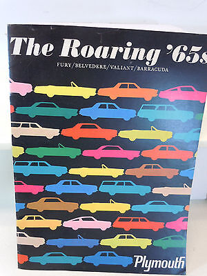 VINTAGE PROMOTION THE ROARING '65s PLYMOUTH FURY/BELVEDERE/VALIANT/BARRACUDA