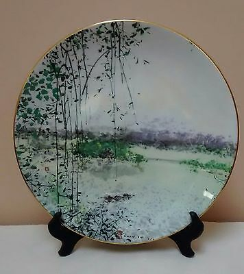 """Royal Doulton Chen Chi """"Lake of Mists"""" 1980 Plate Limited Edit. #867/15000 Mint*"""