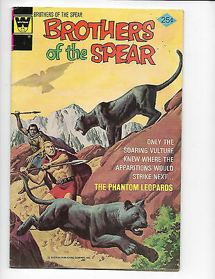 Brothers of the Spear #15 Whitman 1975 FN- 5.5 Phantom Leopards