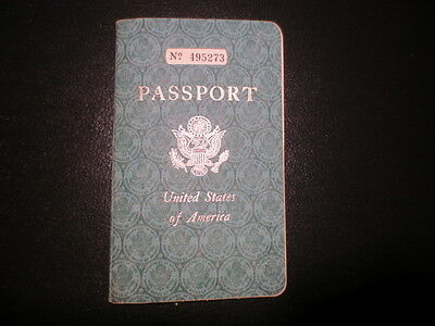 1951 dated passport and driver's document