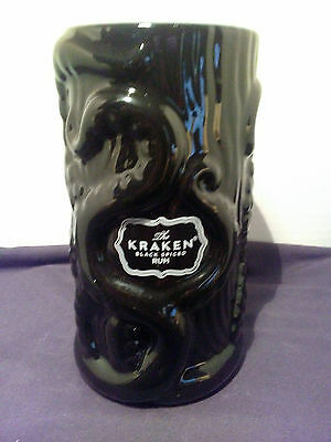 Release The Kraken Black Spiced Rum Tiki Mug