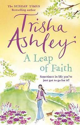 NEW A Leap of Faith By Trisha Ashley Paperback Free Shipping