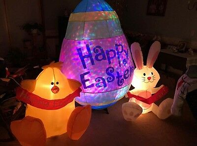 Gemmy Airblown Easter Inflatable One Of A Kind Custom Made