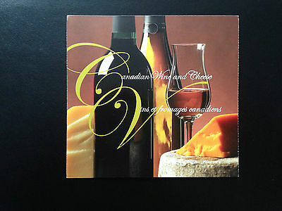 Canada BK333 #2168-2171, Canadian Wine and Cheese Booklet of Stamps 2006