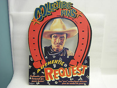 Request Jeans Cardboard Store Advertising Stand for Collectable Jean Pins