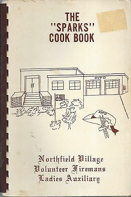 *northfield Village Oh 1973 The Sparks *ethnic Cook Book *vol Firemans Auxiliary