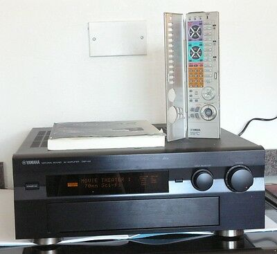 Yamaha DSP-A2 7.1 Channel Receiver Amplifier Black Home Theatre Phono Stage Exc