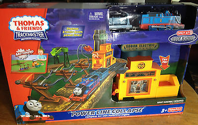 NEW-Thomas & Friends Trackmaster Power Line Collapse with Motorized Engine